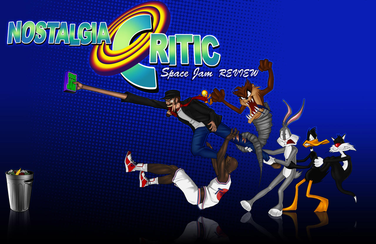 Nostalgia Critic - Space Jam by MaroBot