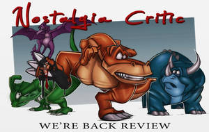 NC-We're Back review poster by MaroBot