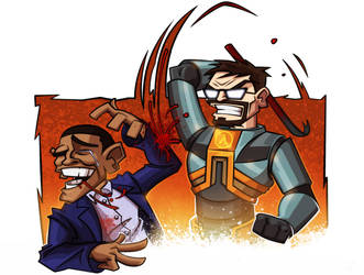 Half Life 3 - commission by MaroBot