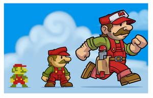 Mario redesign by MaroBot