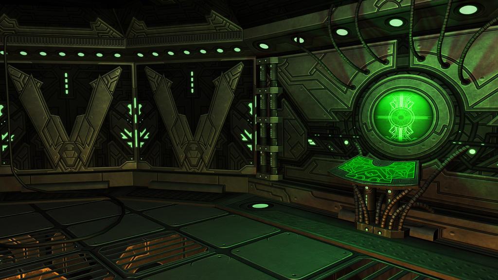 600v 3,174 104 AT4W   Vyce Spaceship Interior By MaroBot