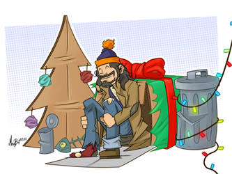 Bum Christmas by MaroBot