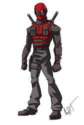 Deadpool redesign by MaroBot