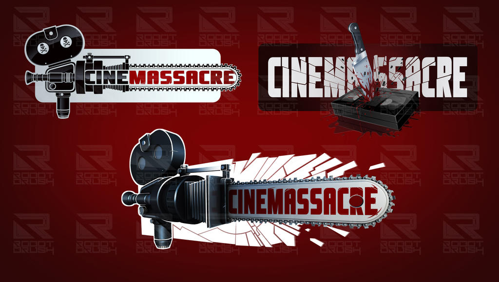 Cinemassacre logo by MaroBot