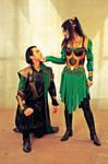 Loki (Avengers) cosplay