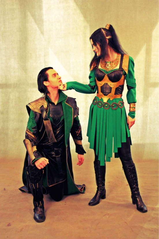 Loki (Avengers) cosplay by CharlieHotshot