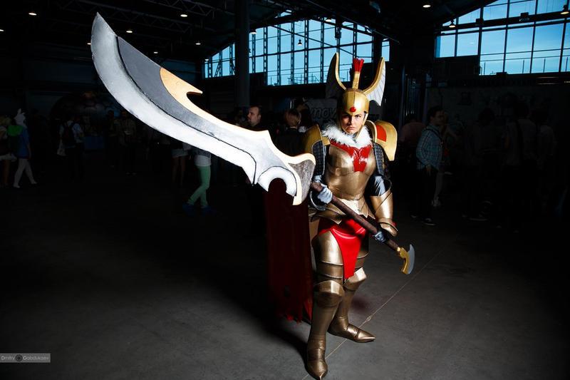Legion Commander DotA2 cosplay by CharlieHotshot on DeviantArt
