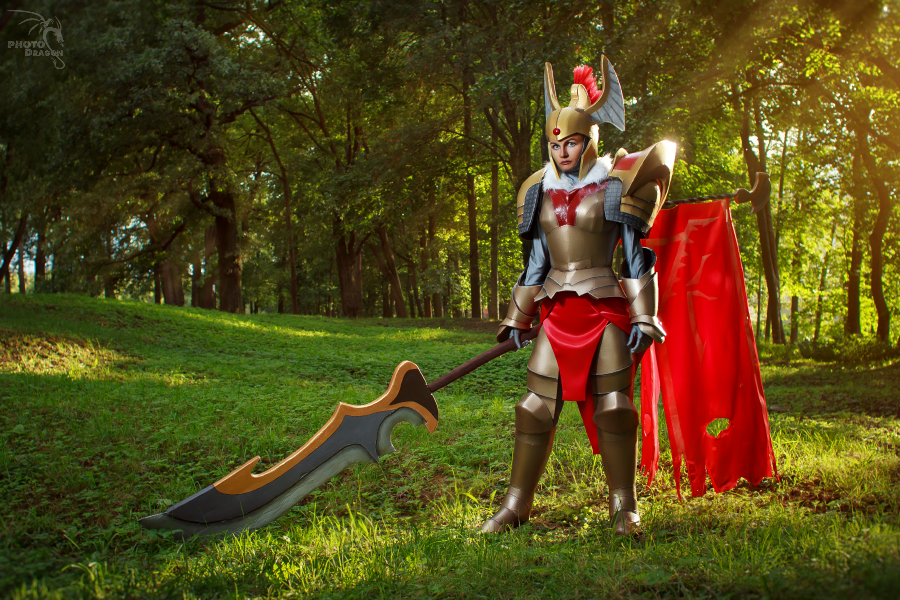 Legion Commander DotA2 cosplay by CharlieHotshot on DeviantArt