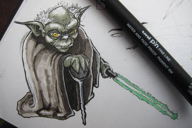 Master Yoda by Foolhed
