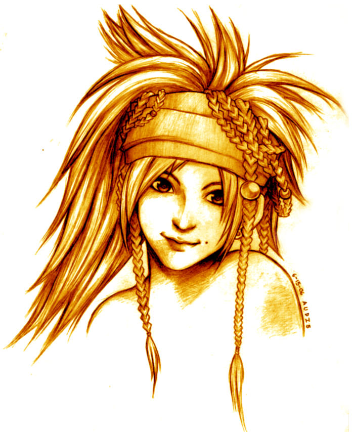 Rikku FFX-2 by Audis