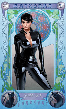 Fav superheroine: Catwoman by pardoart