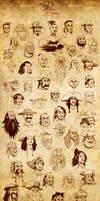 50 pirates and 1 monkey