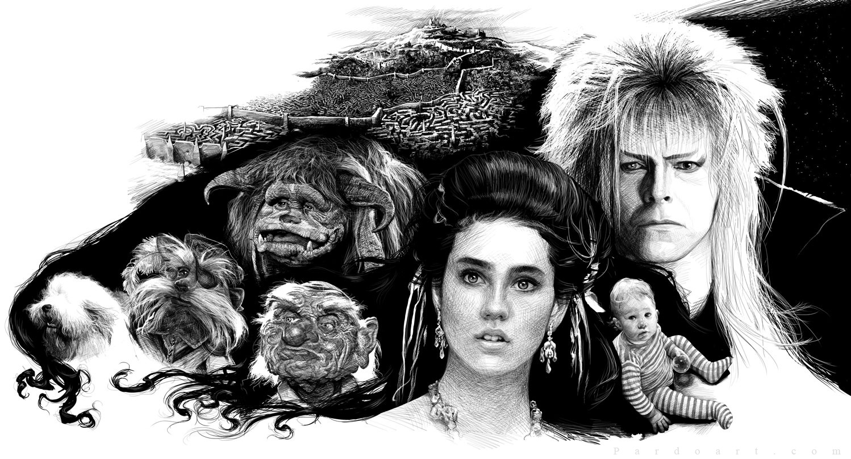 Labyrinth by pardoart on DeviantArt Labyrinth Movie Wallpaper