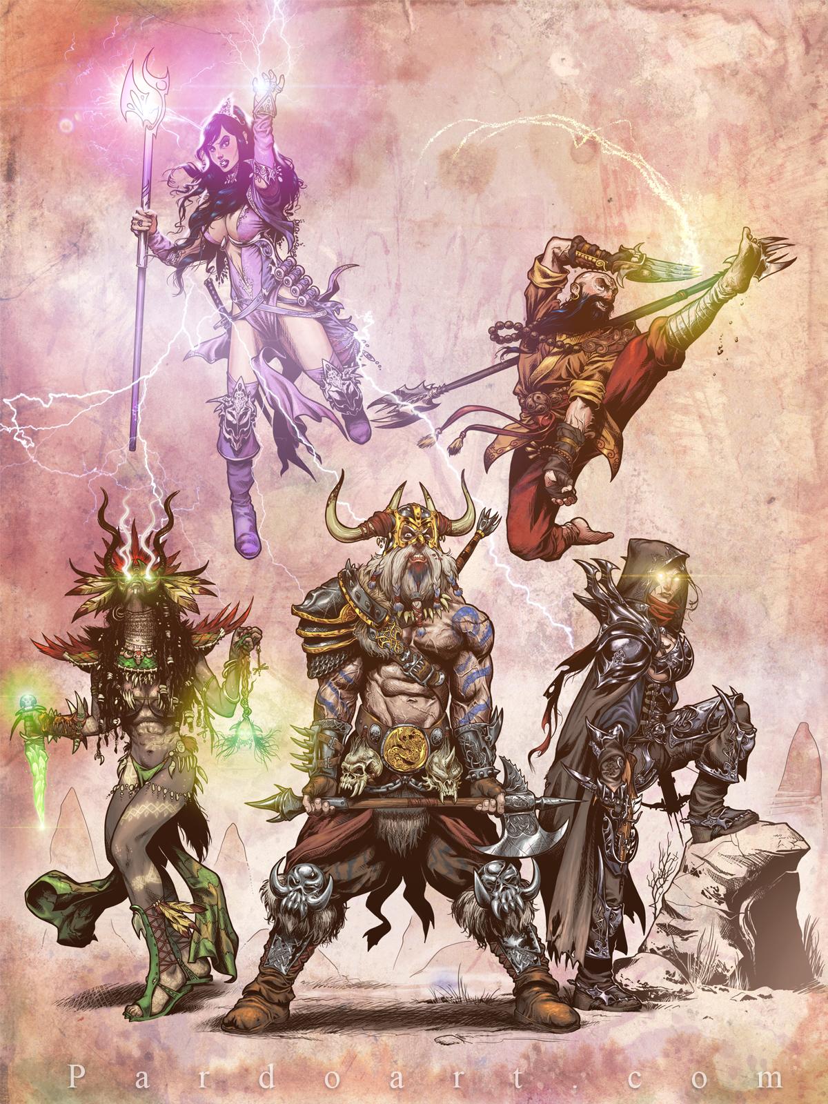 Diablo III art contest by pardoart