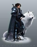 Concept Art - Jon Snow by pardoart