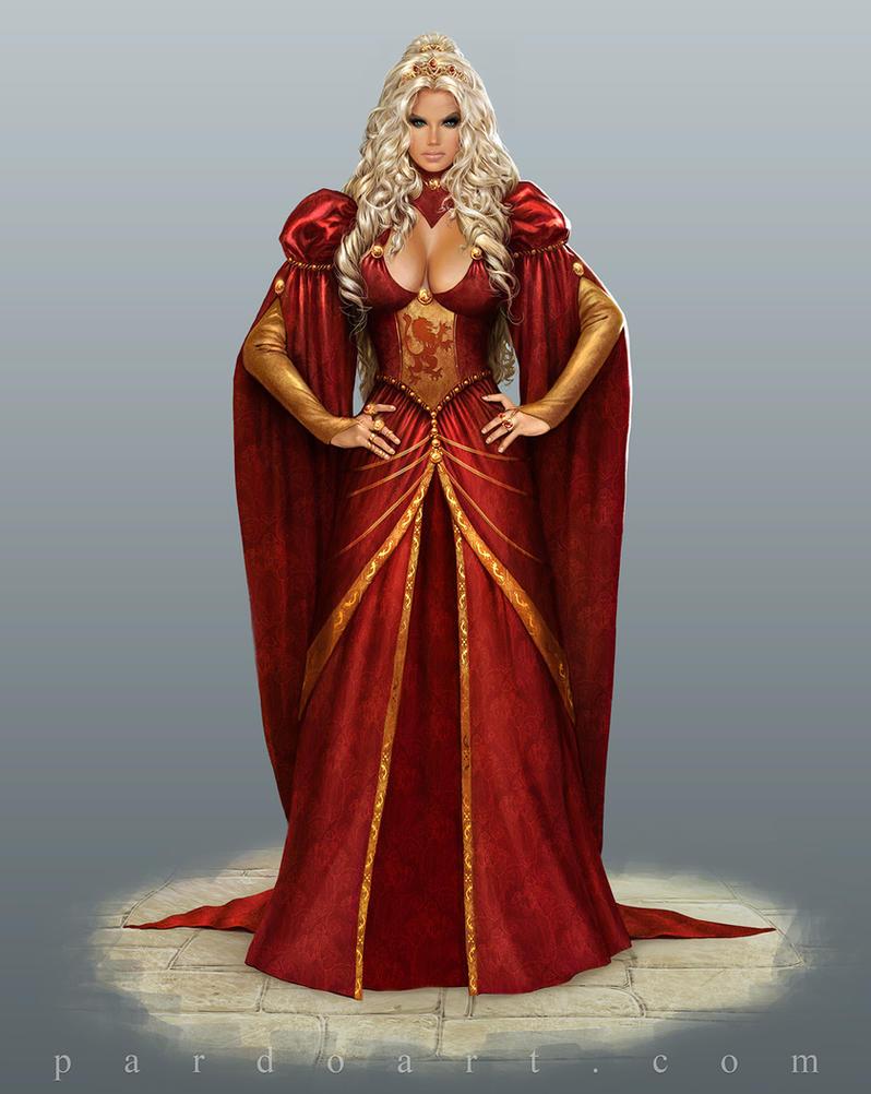 Concept Art - Cersei Lannister by pardoart