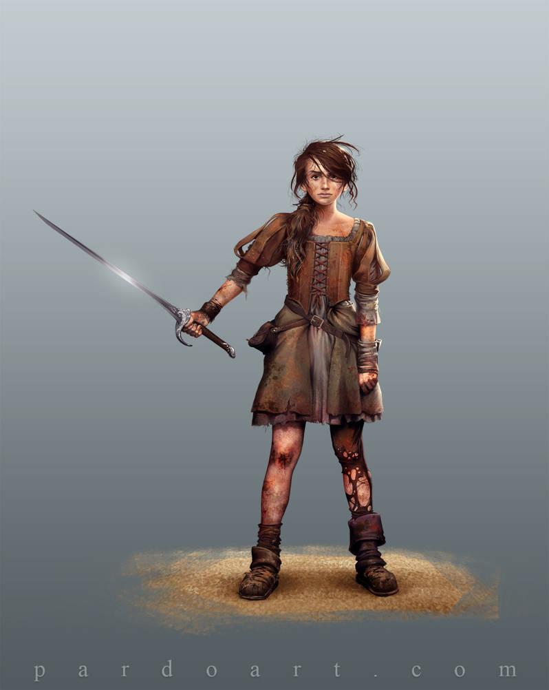 Concept Art - Arya Stark