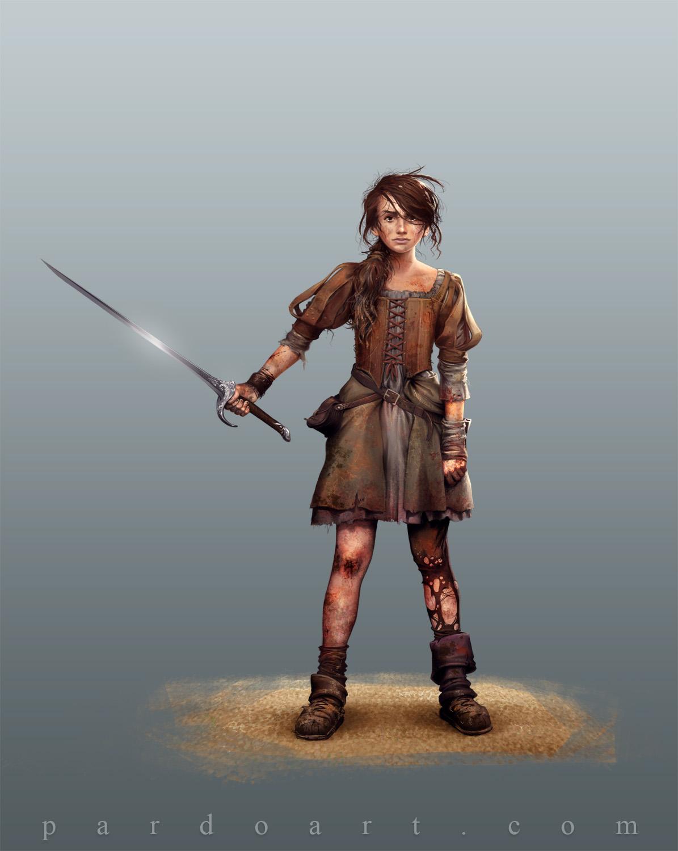 Concept Art - Arya Stark by pardoart