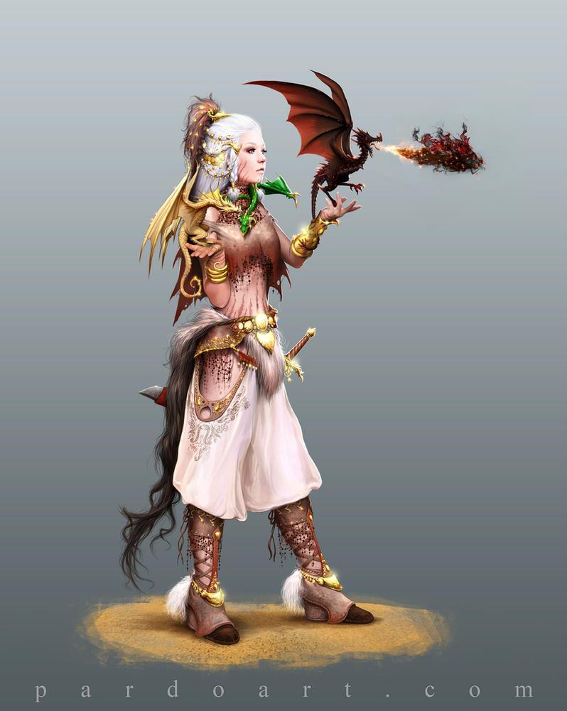 Concept Art - Daenerys Targaryen by pardoart