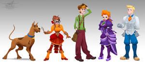 Victorian Scooby-Doo Concept Art