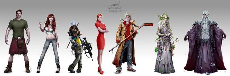 Vampires Concept Art by pardoart