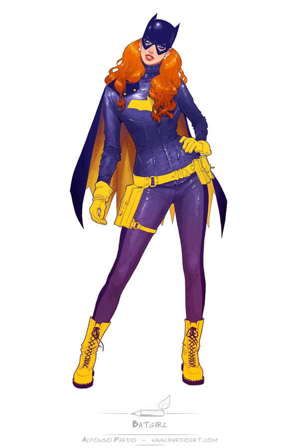 Batgirl redesign by pardoart