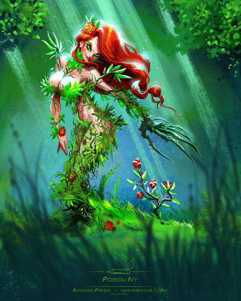 Poison Ivy sketch by pardoart
