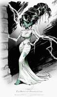 The Bride of Frankenstein sketch by pardoart