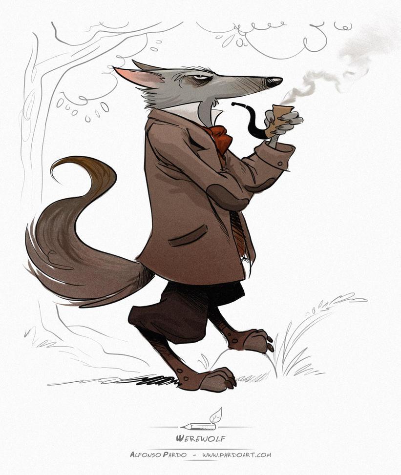 Werewolf by pardoart