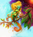 Pixie by pardoart