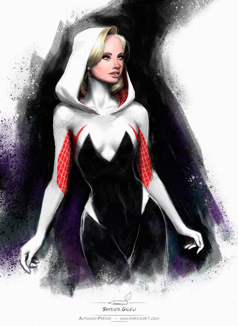 Spider Gwen by pardoart