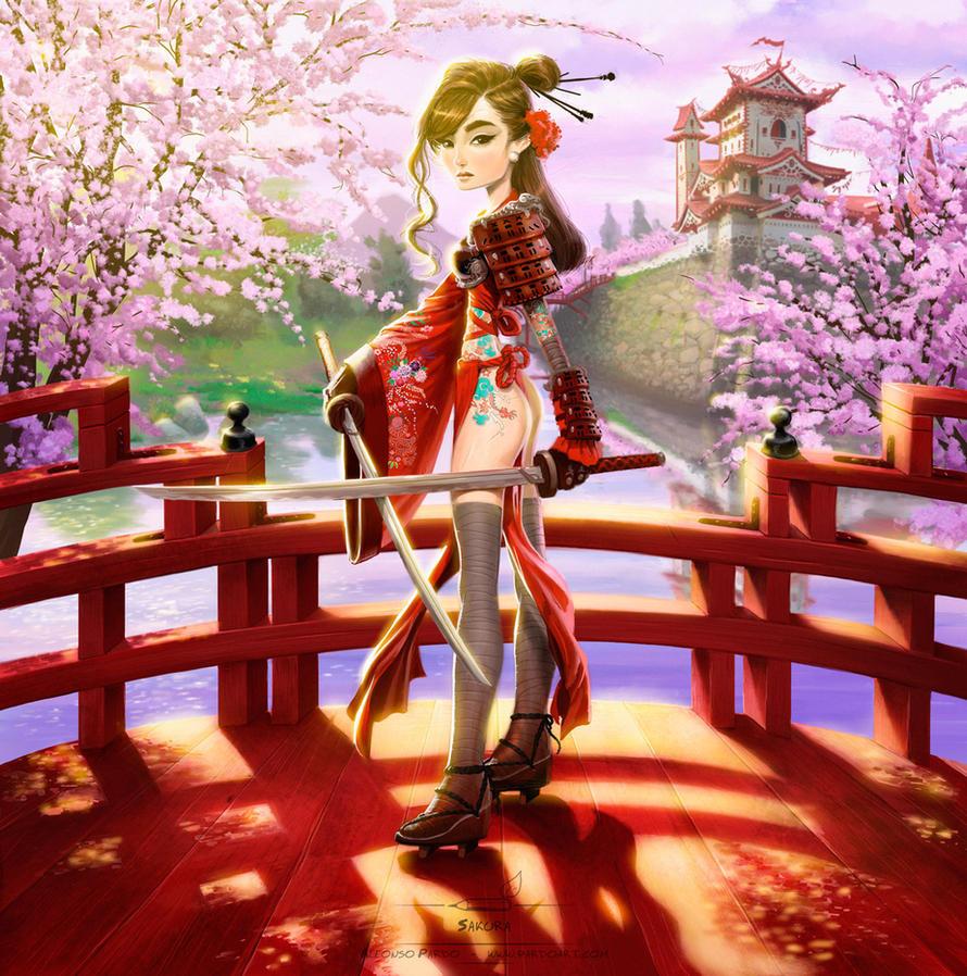 Sakura by pardoart