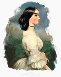 Dama by pardoart