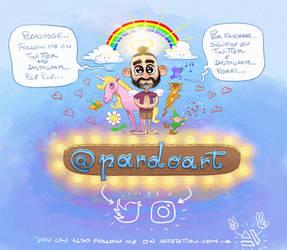 Follow me on twitter, instagram, artstation...