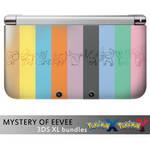 MYSTERY OF EEVEE 3DS bundles