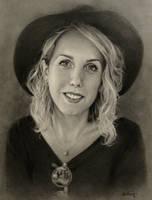 Pencil commission portrait by Trunnec