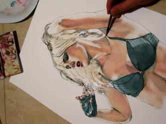 illustration in progress (Sin City fanart) by Trunnec