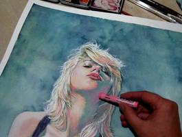 Scarlett in progress by Trunnec