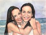 Commission portrait (watercolor)