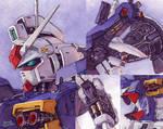 Gundam GP01 details