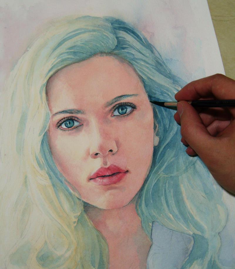 Scarlett Johansson (wip) by Trunnec