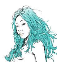 Portrait illustration  by Trunnec