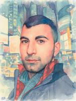 Commission portrait by Trunnec