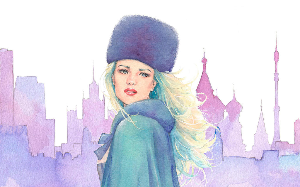 Russian Woman by Trunnec