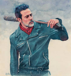 Negan (The Walking Dead) by Trunnec