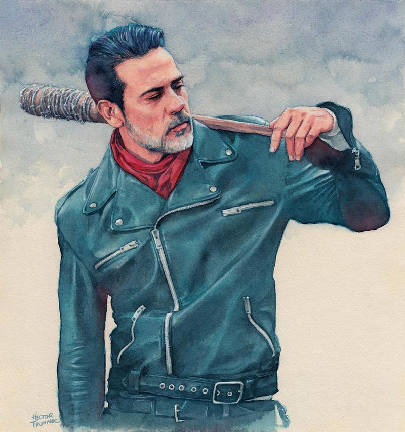 Negan (The Walking Dead) by Trunnec
