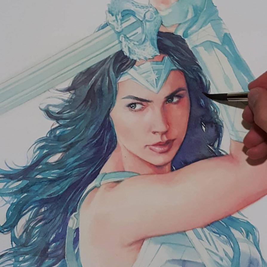Wonder Woman WIP by Trunnec