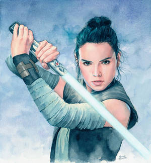Rey (The Last Jedi) by Trunnec