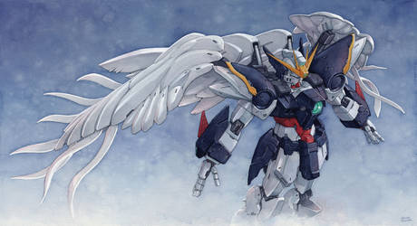 Gundam Wing Zero by Trunnec