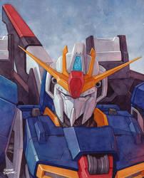 Zeta Gundam by Trunnec